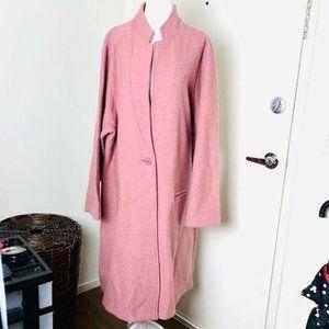 TAHARI Long Wool CARDIGAN COAT